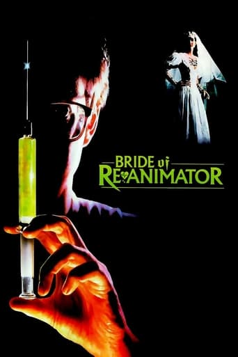 Poster of Bride of Re-Animator