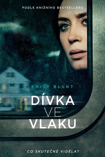 Poster of Dívka ve vlaku