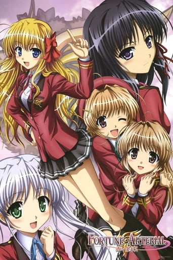 Poster of Fortune Arterial: Red Promise