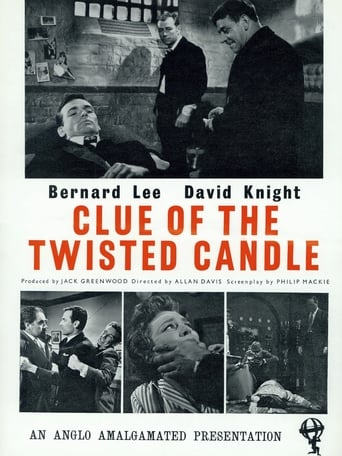 Poster of Clue of the Twisted Candle