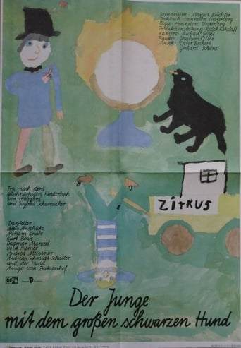 Poster of The Boy with the Big Black Dog