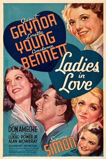 Poster of Ladies In Love