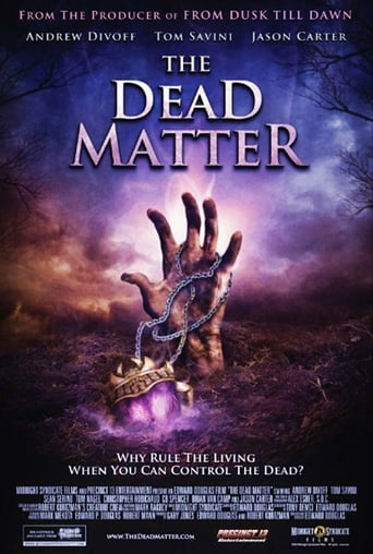 Poster of The Dead Matter