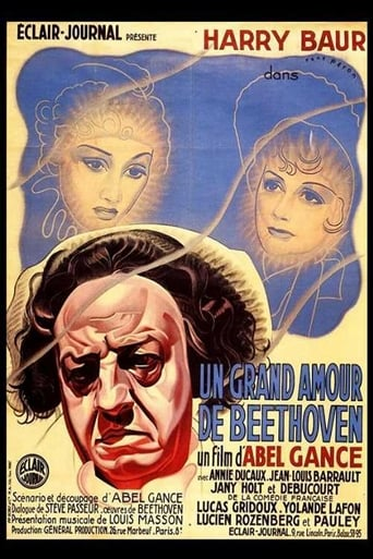 Poster of Beethoven's Great Love