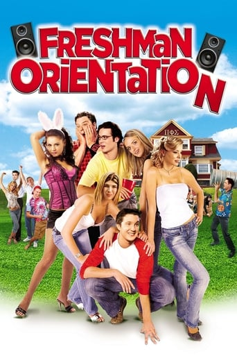 Poster of Freshman Orientation