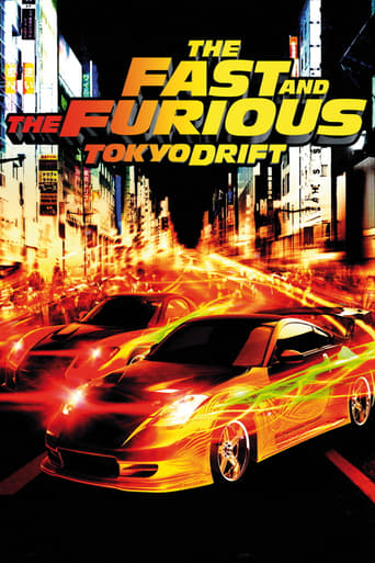 Filmplakat von The Fast and the Furious: Tokyo Drift