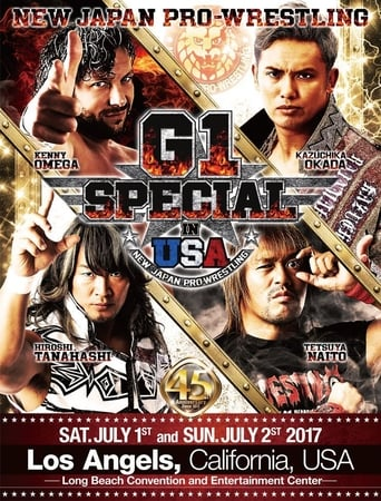 Poster of NJPW G1 Special in USA 2017 - Night 1