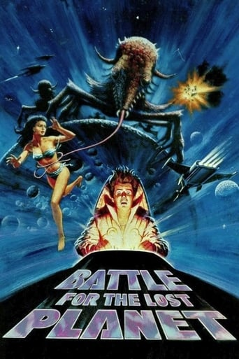 Poster of Battle for the Lost Planet