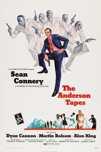 Poster of The Anderson Tapes