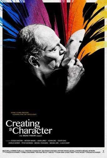 Poster of Creating a Character: The Moni Yakim Legacy