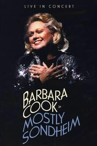 Poster of Barbara Cook: Mostly Sondheim