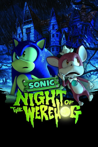 Poster of NIGHT OF THE WEREHOG ~ソニック&チップ 恐怖の館~