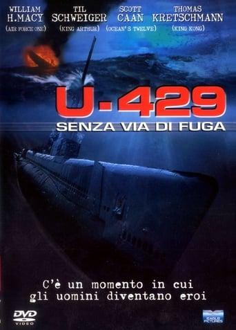 Poster of U-429 - Senza via di fuga