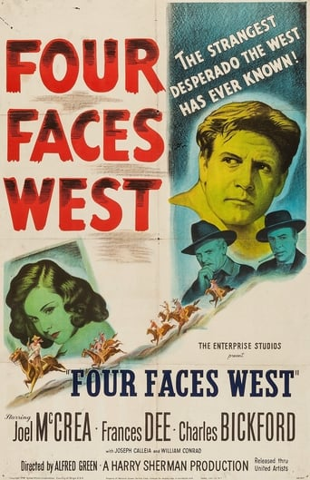 Poster of Four Faces West