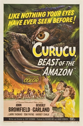Poster of Curucu, Beast of the Amazon