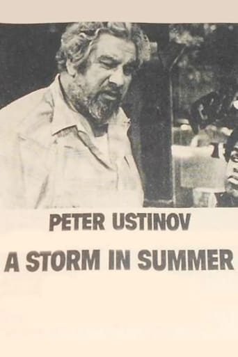 Poster of A Storm in Summer