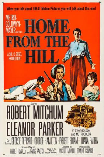 Poster of خانه ایی از تپه