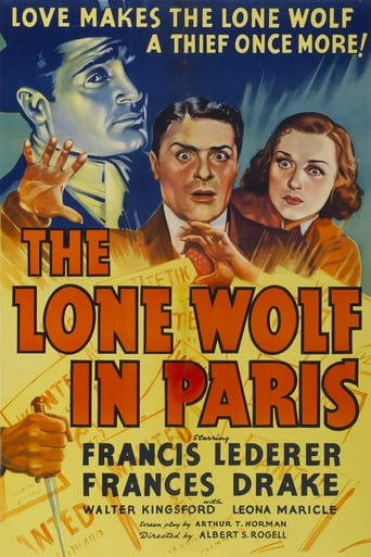Poster of The Lone Wolf in Paris