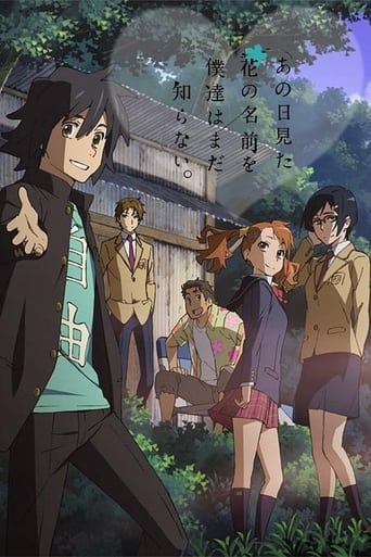 Poster of Anohana: The Flowers We Saw That Day - a Letter to Menma