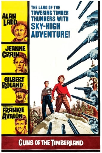Poster of Guns of the Timberland