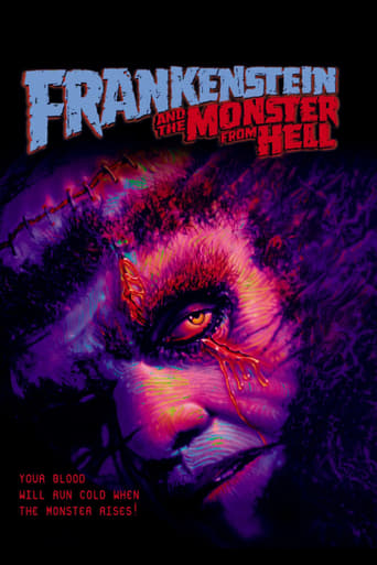 Poster of Frankenstein and the Monster from Hell