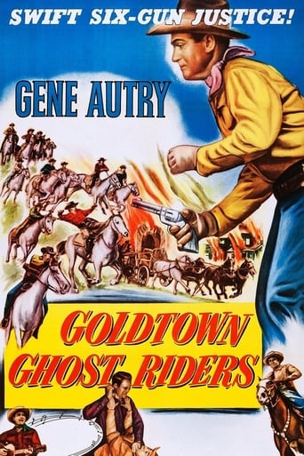 Poster of Goldtown Ghost Riders