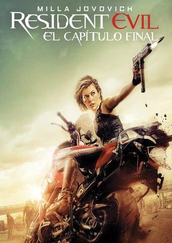 Poster of Resident Evil: El capítulo final