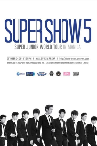 Poster of Super Junior World Tour - Super Show 5