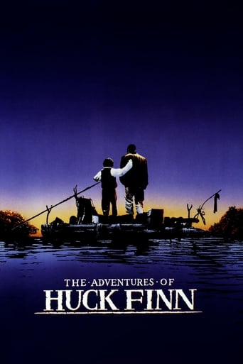 Poster of The Adventures of Huck Finn