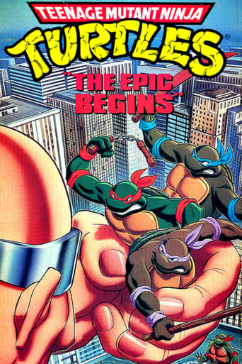 Poster of Teenage Mutant Ninja Turtles: The Epic Begins