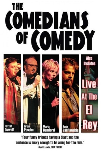 Poster of The Comedians of Comedy: Live at The Troubadour