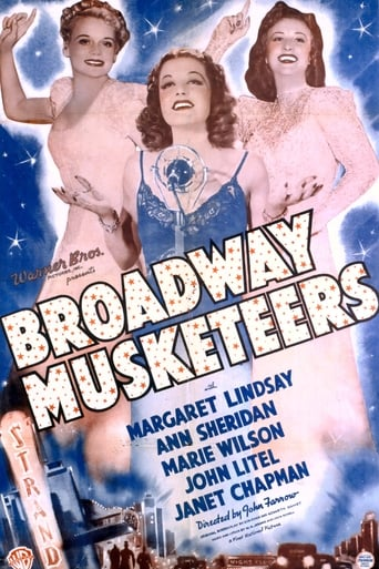 Poster of Broadway Musketeers
