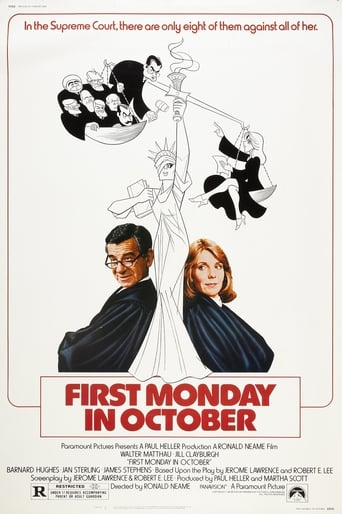 Poster of First Monday in October