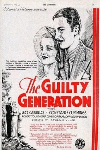 Poster of The Guilty Generation