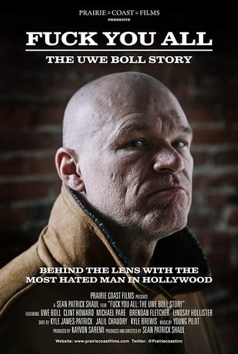Poster of Fuck You All: The Uwe Boll Story