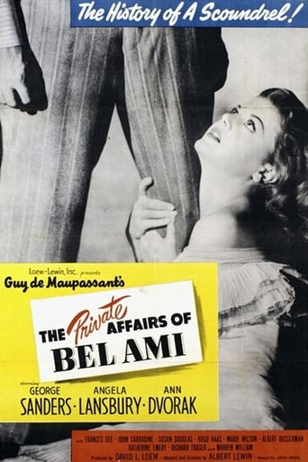 Poster of The Private Affairs of Bel Ami