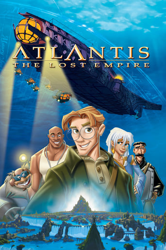 Poster of Atlantis: The Lost Empire