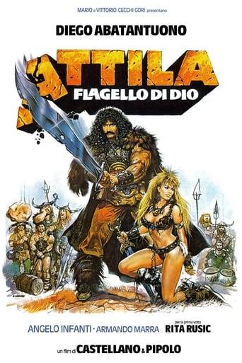 Poster of Attila flagello di Dio