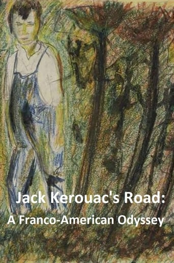 Poster of Jack Kerouac's Road - A Franco-American Odyssey