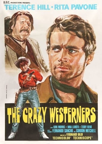 Poster of Crazy Westerners