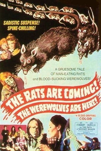 Poster of The Rats Are Coming! The Werewolves Are Here!