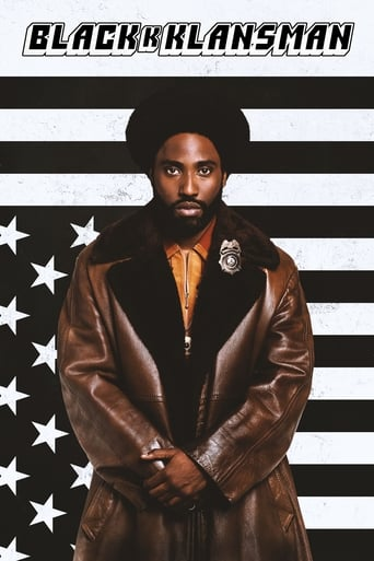 Poster of BlacKkKlansman
