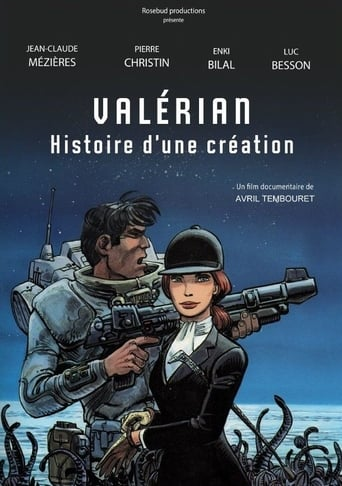 Poster of Valérian, histoire d'une création