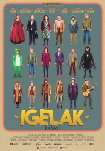 Poster of Igelak (Frogs)