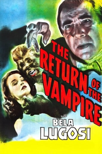 Poster of The Return of the Vampire