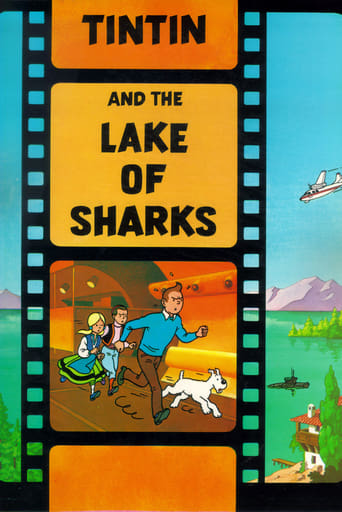 Poster of Tintin and the Lake of Sharks