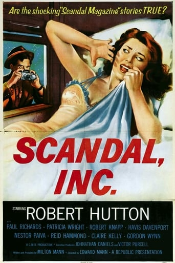 Poster of Scandal Incorporated