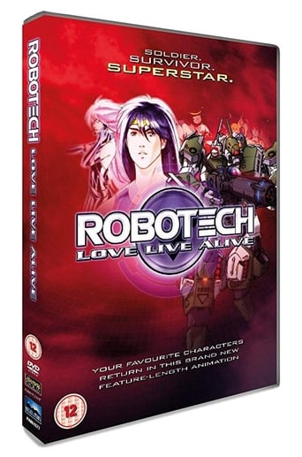 Poster of The Making of Robotech: Love Live Alive