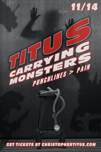 Poster of Christopher Titus: Carrying Monsters