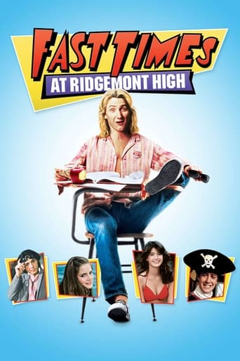 Poster of Fast Times at Ridgemont High